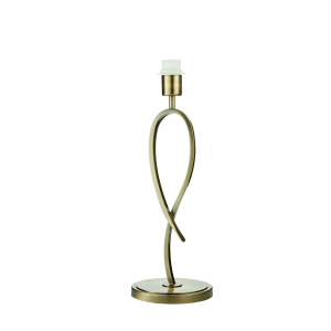Table Light - Brushed brass effect plate