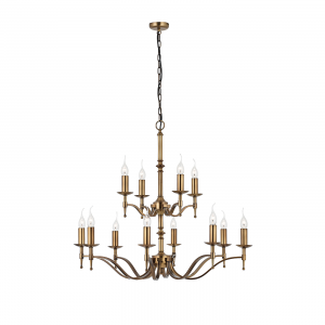 Pendant Light - Antique brass finish