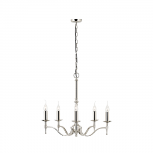 Pendant Light - Polished nickel plate