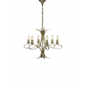 Pendant Light - Brushed brass effect plate
