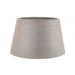 Classic 10 Inch Grey Linen Fabric Drum Table/Pendant Lamp Shade 60w Maximum