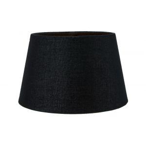 Classic 10 Inch Black Linen Fabric Drum Table/Pendant Lamp Shade 60w Maximum