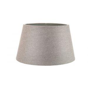 Traditional 8 Inch Grey Linen Fabric Drum Table/Pendant Lamp Shade 40w Maximum