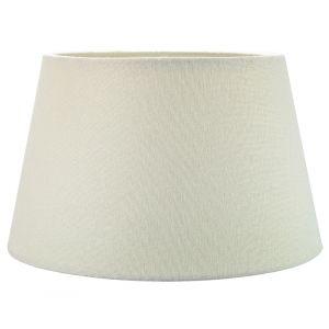 Traditional 14 Inch Cream Linen Fabric Drum Table/Pendant Lampshade 60w Maximum