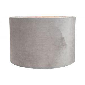 """Contemporary and Stylish Grey Soft Brushable Velvet 12"""" Lamp/Pendant Shade"""