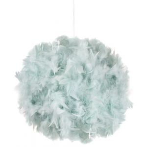 Eye-Catching and Modern Small Duck Egg Feather Decorated Pendant Lighting Shade