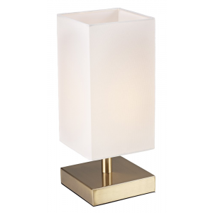 Contemporary Antique Brass Touch Dimmable Table Lamp