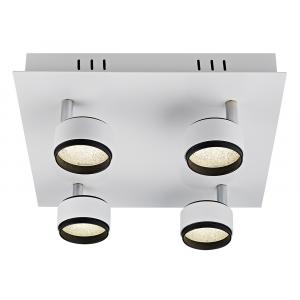 Contemporary Matt White LED Ceiling Spot Light Fitting