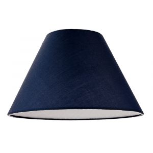 """12"""" Midnight Blue Cotton Coolie Lampshade Suitable for Table Lamp or Pendant"""
