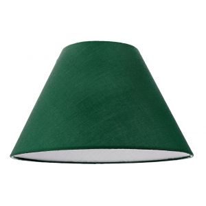 """12"""" Forest Green Cotton Coolie Lampshade Suitable for Table Lamp or Pendant"""