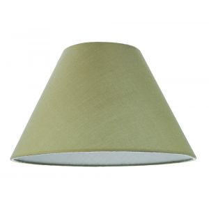 """12"""" Olive Green Cotton Coolie Lampshade Suitable for Table Lamp or Pendant"""