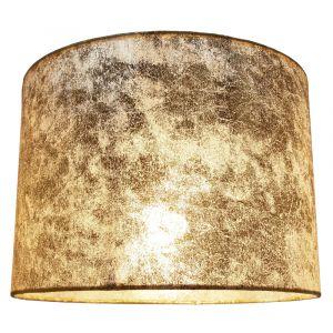 "Modern Designer Gold Foil Effect 10"" Lamp Shade for Table or Ceiling Use"