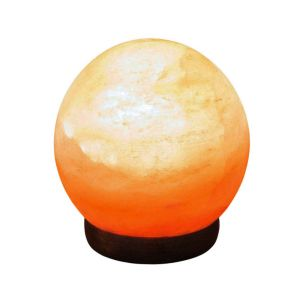 Handcrafted Himalayan Aromatherapy Salt Globe Table Lamp with Bulb Included