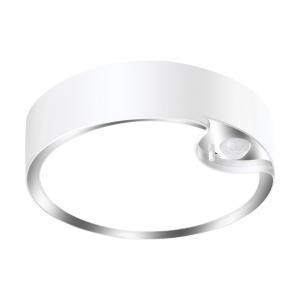 Motion Sensor LED Ceiling Light Fitting Battery Operated - Cool White 300 Lumens