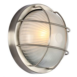 Stainless Steel Aluminium Outdoor Bulkhead Wall/Ceiling Light