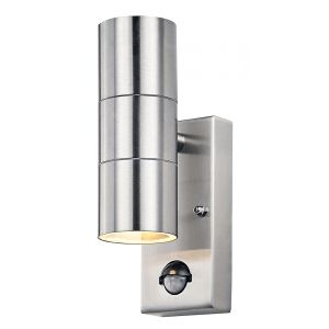 Contemporary Stainless Steel Sensor Outdoor Downlighter/Uplighter