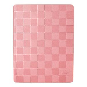 iPad 3 / 4 PU Leather Slim Smart Case Stand Cover w/ Screen Protector - Pink