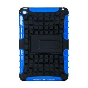 iPad Mini 4 Silicone Heavy Duty Protective Case - Blue / Black