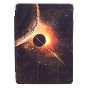 "iPad Pro 9.7"" (2016) Premium Galaxy with Planets Illustration Slimline Flip Case"