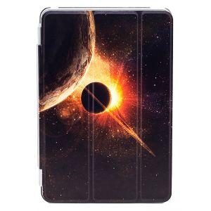 iPad Mini 4 Premium Galaxy with Planets Illustration Slimline Flip Case