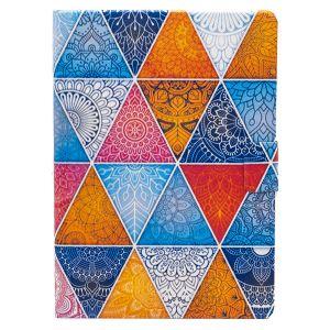 "iPad Pro 9.7"" (2016) Bright Multicoloured Geometric Mandala Cover Case - Multi"