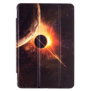 iPad Mini 1 / 2 / 3 Premium Galaxy with Planets Illustration Slimline Flip Case