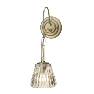 Brushed Brass Wall Light - 1 x 3.5W LED G9