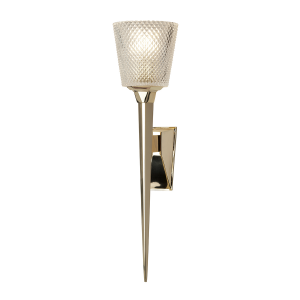 Polished Gold Wall Light - 1 x 3.5W LED G9