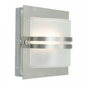 Stainless Steel E27  Clear - 1 x 60W E27