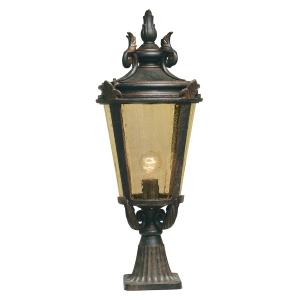 Weathered Bronze Pedestal Lantern Large - 1 x 150W E27