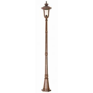 Rusty Bronze Patina Lamp Post Medium - 1 x 100W E27