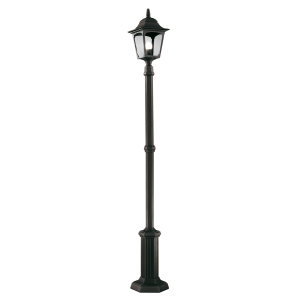 Black Lamp Post - 1 x 100W E27