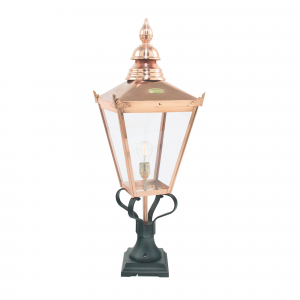 Copper Pedestal - 1 x 100W E27