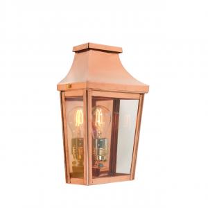 Copper Half Lantern Small - 1 x 75W E27