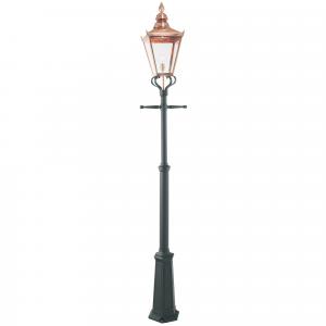 Copper Grande Single Post - 1 x 100W E27