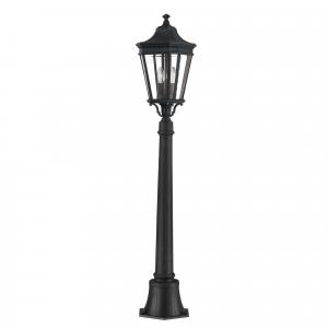 Black Medium Pillar - 2 x 60W E14