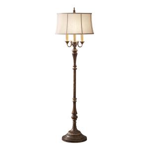 Cambridge Crackle 4lt Floor Lamp - 4 x 60W E27