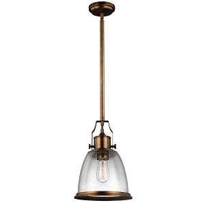 Aged Brass Medium Pendant - 1 x 75W E27