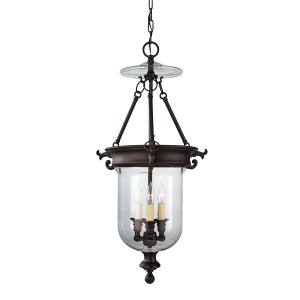 Oil Rubbed Bronze 3lt Chandelier - 3 x 40W E14
